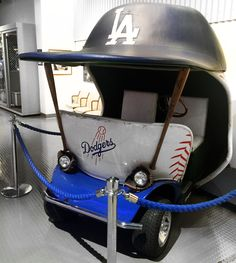 Dodger Stadium Tour on Opening Day Dodger Stadium, Stadium Tour, Let's Go Dodgers, Dodger Blue, Opening Day, Los Angeles Dodgers, Riding Helmets, Baby Strollers, Baby Prams