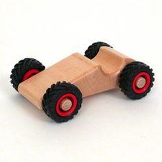 Speedy Wooden Car (Fagus)