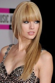 Long Bangs And Layers Hairstyle