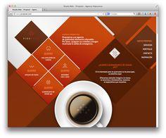 Diagonal Web Layout