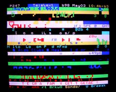 Teletext glitch art (3)