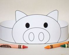 Cat Crown COLOR YOUR OWN  Printable