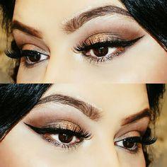 "63 Likes, 1 Comments - Alisa Faith Beauty أليسا إيمان (@alisafaithbeauty) on Instagram: ""she said slay me a #wingedeyeliner ! #makeup by me 💋 @AlisaFaithBeauty... 📞For Bookings…"""