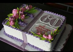 Niver 60 anos mãe Slab Cake, Fig Cake, Cake Decorating Techniques, Cake Decorating Tips, Bolo Picnic, Bible Cake, Cupcake Recipes From Scratch, Birthday Sheet Cakes, Cakes Plus