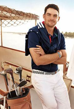 Keegan Bradley (PGA tour) bustin out the nautical wear Preppy Mens Fashion, Golf Fashion, Military Fashion, Military Style, Nautical Outfits, Nautical Fashion, Nautical Style, Mens Golf Outfit, Kids Golf
