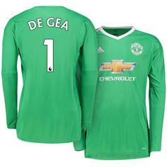 Man United Goalkeeper Kit david de gea 17-18 Goalkeeper Kits 4ab9598af