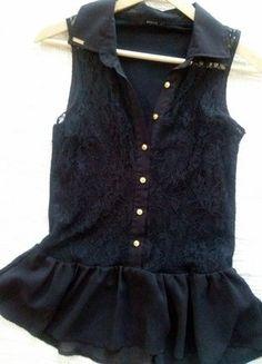 Mohito bluzka Maffashion 36 koronka Baskinka Peplum, Asos, Zara, Nike, Women, Fashion, Moda, Fashion Styles, Fashion Illustrations