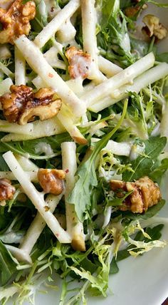 Low Carb Recipes To The Prism Weight Reduction Program Honey Crisp Apple Salad With Candied Walnuts And Sweet Spiced Cider Vinaigrette Sweeten Your Salad Dressing Naturally With Madhava Think Food, Food For Thought, Vegetarian Recipes, Cooking Recipes, Healthy Recipes, Cooking Tips, Cooking Lamb, Cooking Bacon, Whole30 Recipes