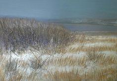 Inverno sul lago 60x50 cm Luigi Torre painter 2015