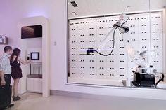 check into the futuristic hotels that push technology beyond free wi fi yotel yobot luggage