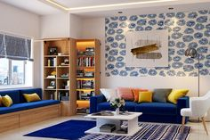 Home » Blog » Living Room Interiors » Living Room Carpet Design Ideas For Every Style The golden rug like the one adds a charm to this living room 1 of 7 Bring The Latest Fad 'Golden' To Your Living Room Brushed gold accents are in vogue with home interior decor trends right now. And […]
