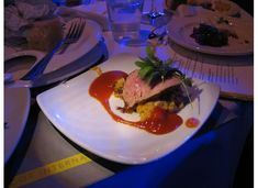 Grilled Veal Tenderloin With Chipotle Corn Mash recipe served at Food and Wine Festival in EPCOT at Disney World