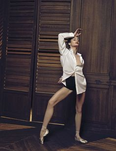 Paris Opera Ballet Director of Dance Aurélie Dupont by Francesco Carrozzini for Vogue Bambini Congratulations Aurélie