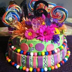 """sweet"" 16 cake"