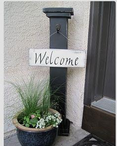 Front door decor Love it? Like it! <3