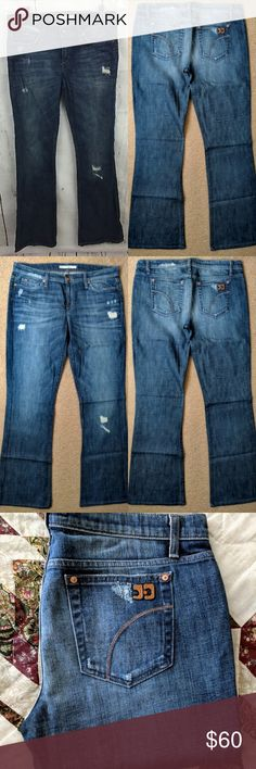 492db6ad329 Joe's Jeans Distressed Rocker Boot Cut in Kates 32 Absolutely BRAND NEW  without tags, these