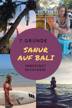 Sanur Bali: 7 Gründe, warum es sich lohnt Sanur zu besuchen › reasons why it is definitely worth visiting Sanur on the beach on your Bali trip. Sanur Bali, Bali Lombok, Ubud, Bali Travel Guide, Top Travel Destinations, Top Instagram Influencers, Bali With Kids, Gili Air, Northern Lights