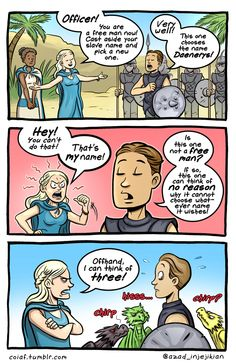 Game of thrones comic