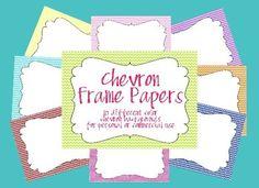 Chevron frames!