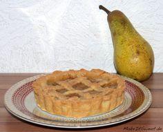 Mini Birnen-Zimt-Pie Rezept pear cinnamon pie
