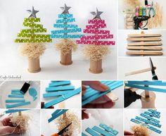 Cudowne drzewka świąteczne