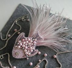 Image gallery – Page 838232549367795994 – ArtofitGorgeous bird with sequins, beads & tasselLavender- bead embroidery by handmade_ru_jewellery Couture Embroidery, Bead Embroidery Jewelry, Embroidery Fashion, Beaded Embroidery, Hand Embroidery, Embroidery Designs, Embroidery Works, Embroidery Stitches, Beaded Beads