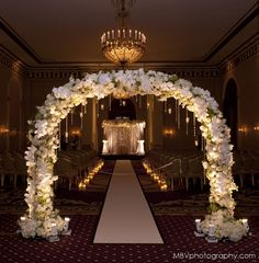 The Aisle Design Wedding at The Roosevelt Hotel New York
