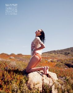 """I Want Fashion... And Prozac!: """"Sensual Exposure"""" features Tayane Leão Melo, shot by Naomi Yang 4 Figaro Japan July 2012"""