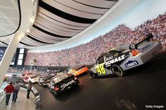 NASCAR Hall of Fame. Designed by Pei Cobb Freed Partners. Built by Turner