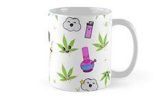 Super awesome Cute Stoner weed stuff Mugs