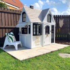 'The Little Fox' - where we'd be hanging out this Bank Holiday weekend! ☀️ Hit ↗️ SAVE for future inspiration 🌿 Summer House of DREAMS 💕🌿 Time to spruce up your ?✨ Our Wall Letters, Summerhouse Plaques and Flags will all add a personal touch 🌿 TAP Wood Playhouse, Backyard Playhouse, Cubby Houses, Play Houses, Wooden Houses, Little Girls Playhouse, Outdoor Projects, Outdoor Decor, Outdoor Ideas