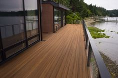 Tropical Capped Composite Decking
