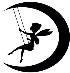Swinging moon