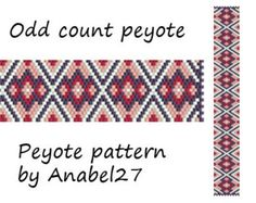 Peyote pattern beadwork peyote bracelet pattern bead