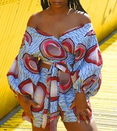 ankara outfit, african outfit, ankara skirt, ankara top, ankara fashion #AfricanFashion