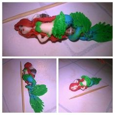 Another addition to my #mermaid  series #dollart #artdoll #dollcollector #keepcollective #miniature
