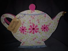 Card Crafts From Pinterest | cards and crafts / Cricut teapot card www.randomcraftsofkindness.com ...