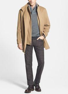 Men's fashion | Winter office gear.