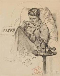 dessins de Norman Rockwell - Google 検索