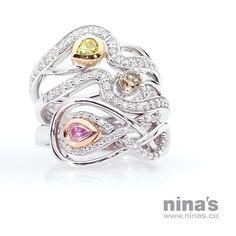 We are your coloured diamond specialists! 💎  #ninasjewellery #ninassayslove #coloureddiamonds