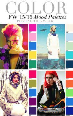 Trend Council: Color - FW15/16 Mood Palettes
