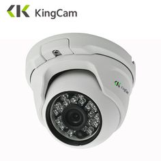 KingCam 2 8mm Lens Wide Angle Metal POE IP Camera 1080P 960P 720P Security Outdoor ONVIF. Click visit to buy