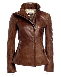 New Women Stylish Slim fit Lambskin Designer Bomber Biker Leather Jacket   0013  Handmade   00f8e3fd00b5a