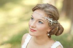 Diamante and pearl bridal headpiece by LeFlowers Bridal | Love My Dress® UK Wedding Blog