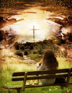 Cross images - 40 inspirational images of the cross. The cross has become a universal symbol of hope. Jesus Is Lord, Jesus Christ, Savior, Jesus Bible, Bride Of Christ, Prophetic Art, Everlasting Life, Praise The Lords, Godly Woman