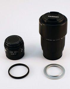 Reversing Lenses for Macro Photography - Tutorials