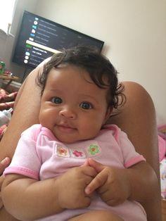 Cute Mixed Babies, Cute Black Babies, Beautiful Black Babies, Cute Little Baby, Pretty Baby, Cute Baby Girl, Beautiful Children, Baby Love, Cute Babies