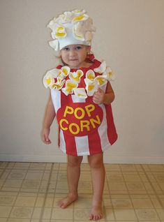 Kids Costume Popcorn Box Halloween Costume  Definitely not for my horse loving, hat tossing, run amok two year old, but very fun!