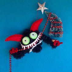 hiGuys: Krampus Ornament