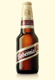 Bohemia Beer - Designed by Design Bridge